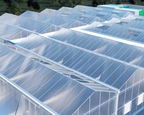 sunlight driven cultivation facility